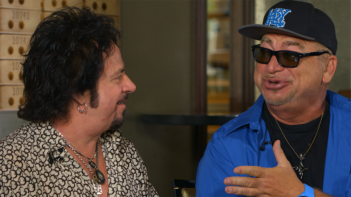"Steve Lukather and David Paich of Toto talk about the history behind their hit ""Africa."""