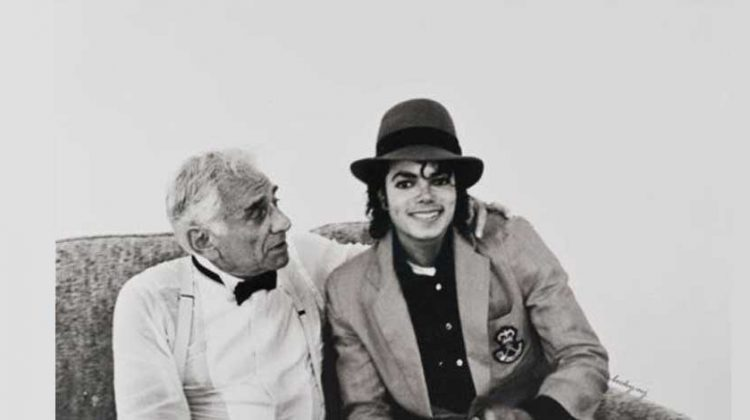 The Day Michael Jackson Met Leonard Bernstein