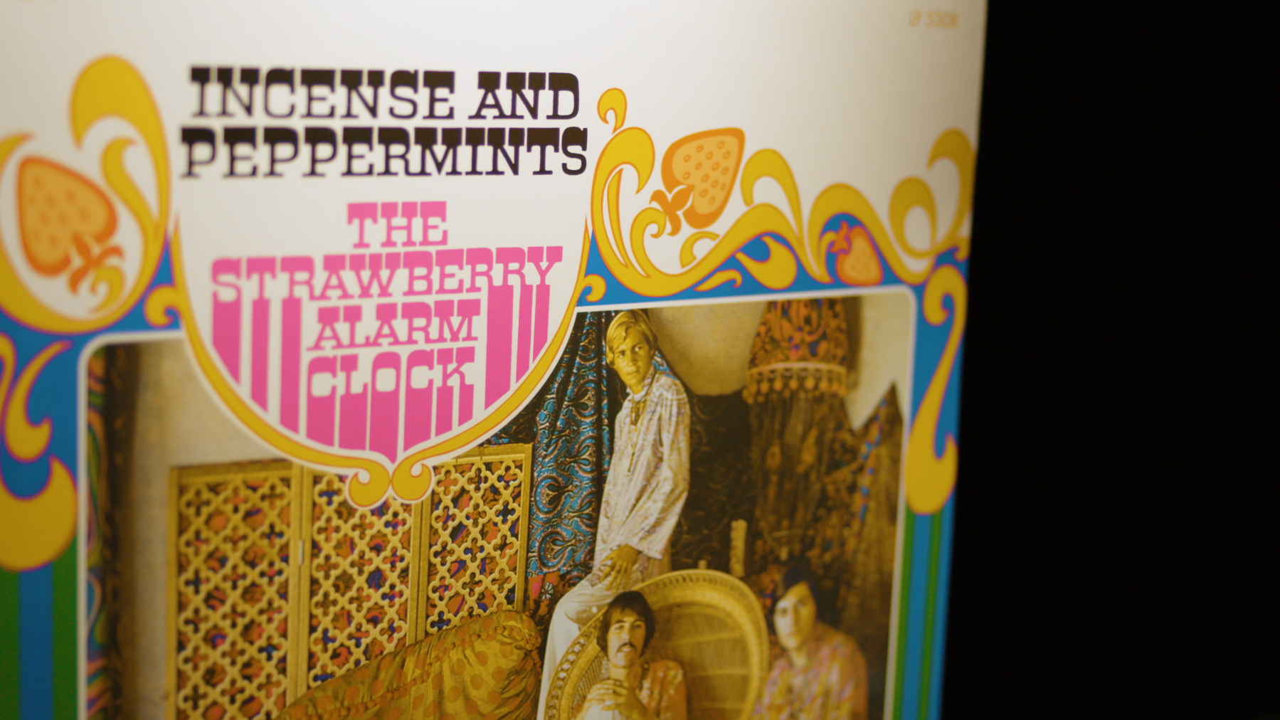 "Album Artwork for Strawberry Alarm Clock's 1976 psychedelic rock hit ""Incense and Peppermints"""