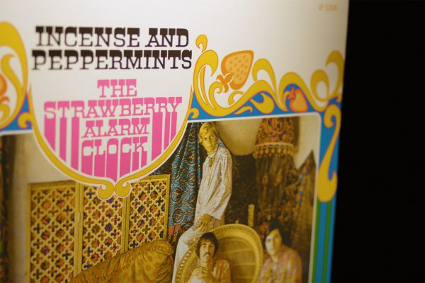 """Album Artwork for by Strawberry Alarm Clock's 1976 psychedelic rock hit """"Incense and Peppermints"""""""