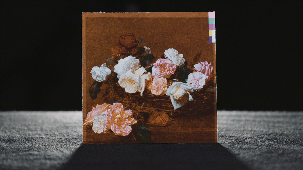 New Order's Power, Corruption, and Lies Album Artwork featuring the hit song Blue Monday