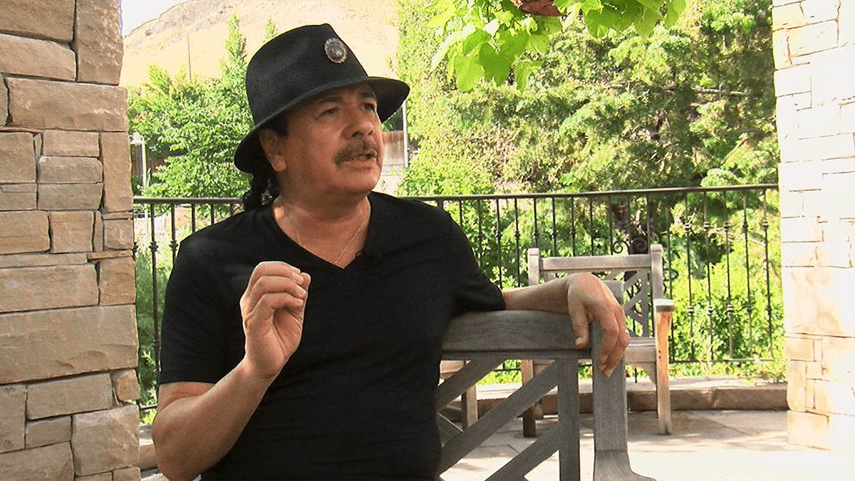 Carlos Santana and The Professor of Rock Game of Love by Santana featuring Michelle Branch