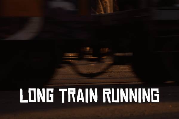 """Long Train Runnin'"" title by The Doobie Brothers"