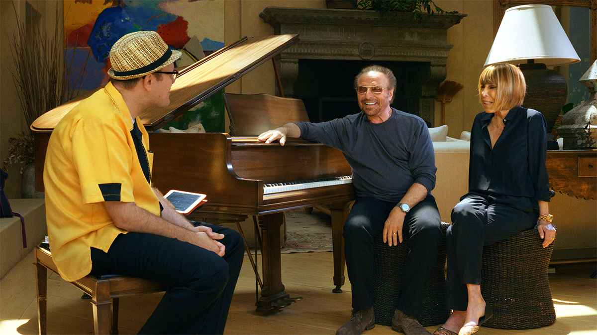 "Barry Mann and Cynthia Weil tell The Professor of Rock the story behind The Drifters hit ""On Broadway."""
