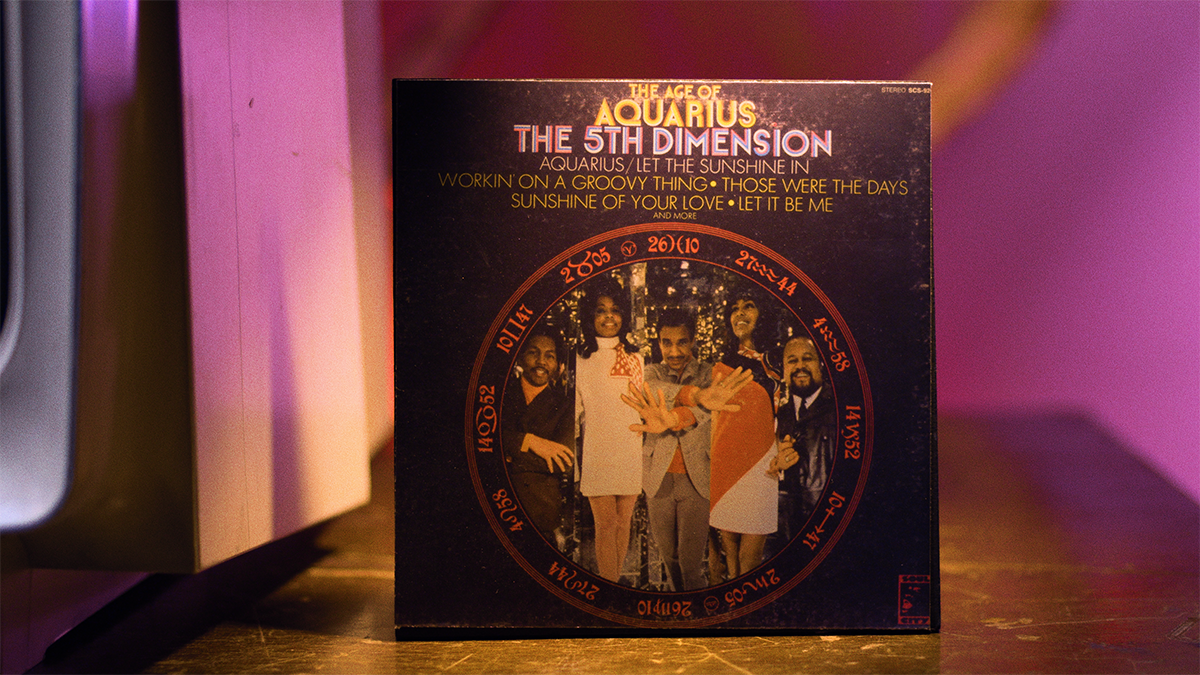 "Album Artwork from ""Aquarius/Let the Sunshine in"" by The 5th Dimension"