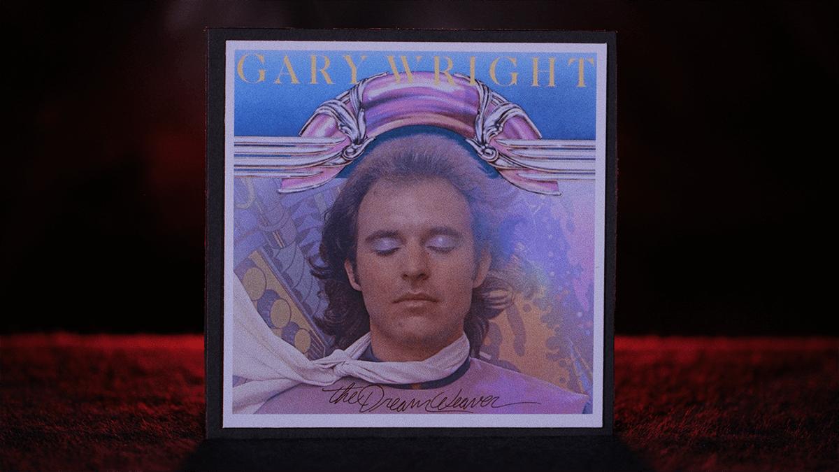 Gary Wright's debut solo album The Dream Weaver Album Artwork