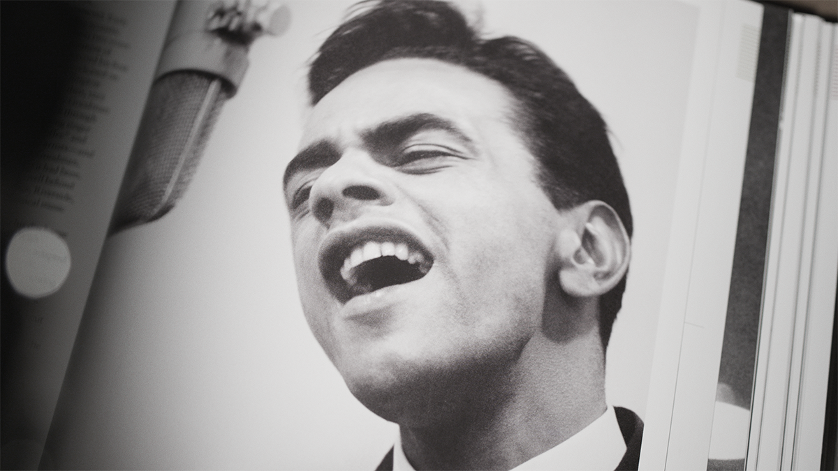 """""""Chances Are"""" Johnny Mathis in 1957"""