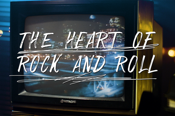 """""""The Heart of Rock and Roll"""" Huey Lewis and The News with Professor of Rock"""